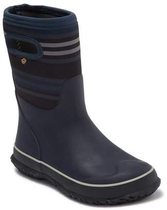Bogs Varied Stripe Waterproof Rain Boot (Toddler, Little Kid, & Big Kid)