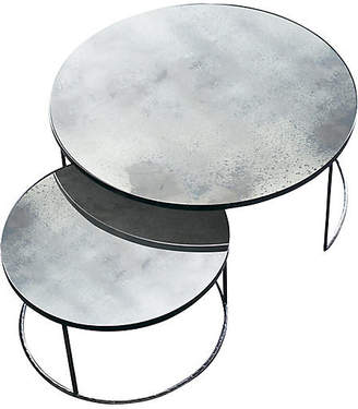 clear Nesting Coffee Tables Notre Monde