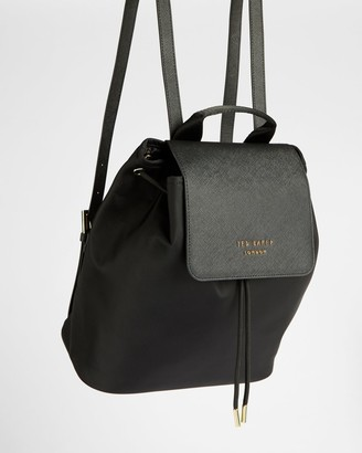 Ted Baker Nylon Drawstring Backpack