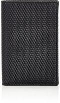 Comme des Garcons Men's Luxury Folding Card Case-BLACK