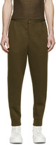 Alexander Wang Green Neoprene Lounge Pants