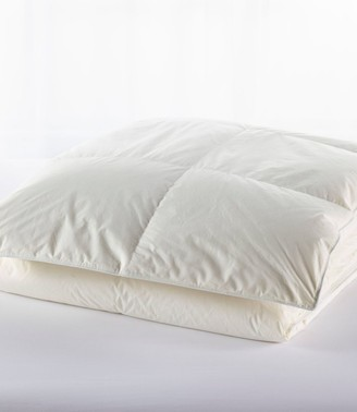 L.L. Bean Baffle-Box Stitch Goose Down Comforter, Warmer