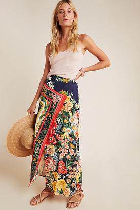 Farm Rio Fiji Midi Skirt By in Assorted Size XS