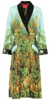 For Restless Sleepers Patterned silk robe