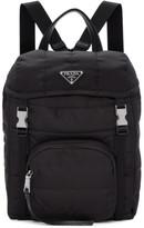 Prada Black Quilted Nylon Backpack