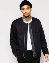 Asos Smart Bomber Jacket in Black