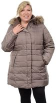 Fleet Street Plus Size Quilted Down Jacket