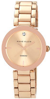 Anne Klein Women's Mirror Bezel Bracelet Watch, 32Mm