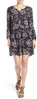 Hinge Crochet Lace Trim Dress