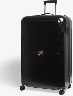 Delsey Black Turenne Four Wheel Suitcase