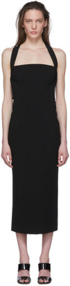 Dolce & Gabbana Black Jersey Longuette Dress
