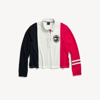 Tommy Hilfiger Colorblock Long-Sleeve Polo