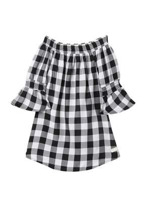 7 For All Mankind Checker Dress (Little Girls)