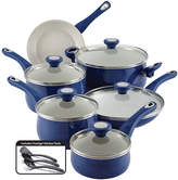 Farberware New Traditions 14-Pc. Speckled Aluminum Cookware Set
