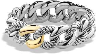David Yurman Belmont Bracelet with 18K Gold