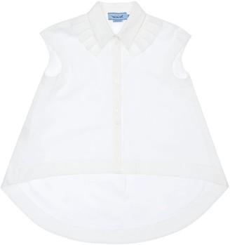Mi Mi Sol Stretch Cotton Blend Shirt