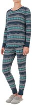 Woolrich Huckleberry Thermal Pajamas - Long Sleeve (For Women)