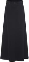 Veronique Branquinho Denim A-Line Skirt