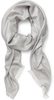 Gregory Ladner METALLIC SCARF