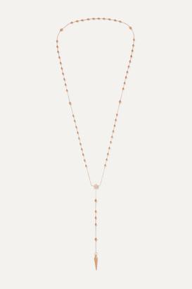 Diane Kordas Spear Rosary 18-karat Gold Diamond Necklace
