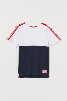 H&M Color-block T-shirt