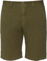 Massimo Alba Linen and cotton-blend shorts