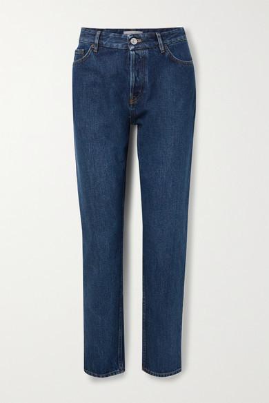 Balenciaga High-rise Straight-leg Jeans - Blue