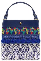 Tory Burch Beaded Parrot Tote