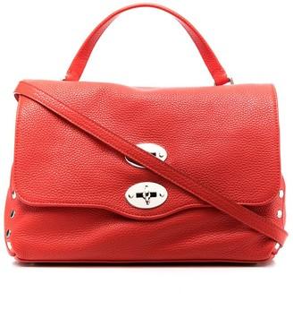 Zanellato Pebbled Leather Tote Bag