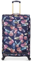 """Jessica Simpson Pineapple 29"""" Expandable Spinner Suitcase"""