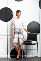Shabby Apple Patches Skirt Knee Length