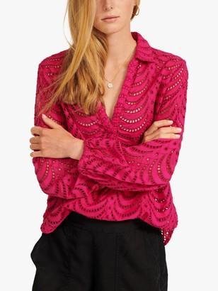 NRBY Jemima Cotton Lace Shirt