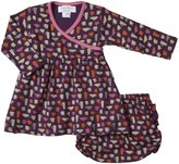 Sweet Peanut Sweetheart Dress (Baby) - Tea for Two-Newborn