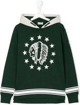 Moncler american-indian print sweatshirt