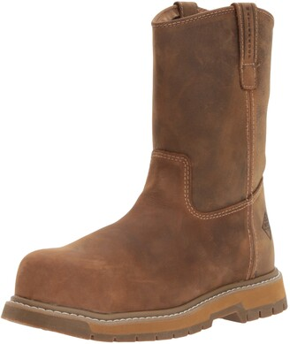 Muck Boot Muck Wellie Classic Composite Toe Men's Leather Work Boots Wide Width