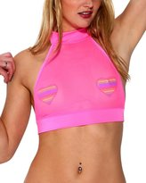 iHeartRaves Mesh Halter Rave Top