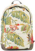 adidas Superstar floral jacquard backpack