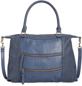 Style&Co. Style & Co Airyell Daisy Perforated Satchel, Created for Macy's