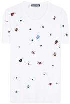 Dolce & Gabbana Crystal-embellished T-shirt