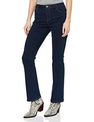 Dorothy Perkins Women's Ellis Bootcut - Regular Length Jeans,(Size:)