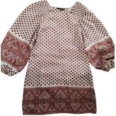 BCBGMAXAZRIA Beige Silk Dress