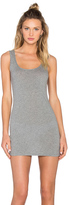 Bobi Light Weight Jersey Open Back Sleeveless Mini Dress