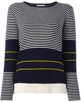 Chinti and Parker fine stripe sweater