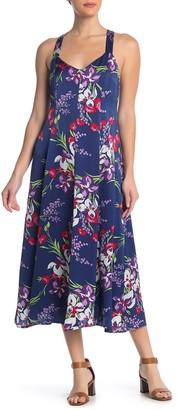 Madewell Floral Print Maxi Dress