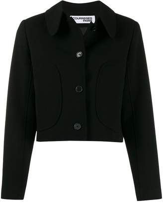 Courreges fitted buttoned jacket