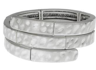 The Sak Hammered Coil Bracelet