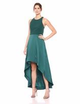Eliza J Women's Sleeveless Open Back High-Low Gown