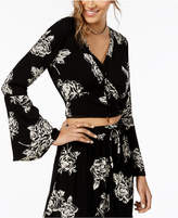 American Rag Juniors' Bell-Sleeve Blouse, Created for Macy's