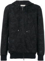 Etro zipped hoodie - men - Cotton/Polyamide - M