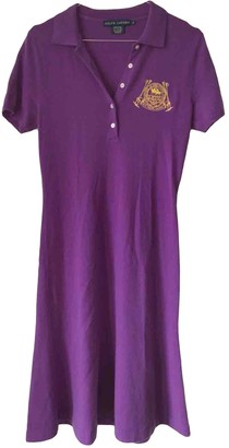 Ralph Lauren Purple Cashmere Dress for Women